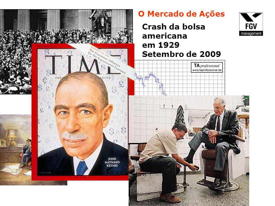O Mercado de Ações Crash da bolsa americana em 1929 Setembro de 2009