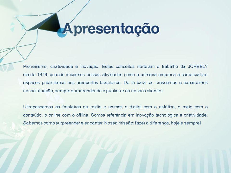 A JCHEBLY está presente nos principais terminais aeroportuários do Brasil.