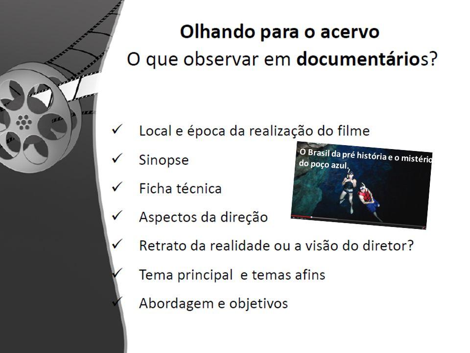 O Brasil da pré história e o mistério do poço azul.