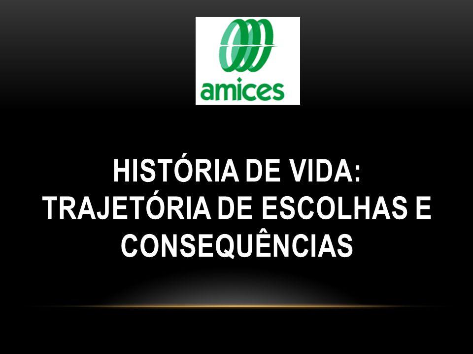 HISTÓRIA DE VIDA: TRAJETÓRIA DE ESCOLHAS E CONSEQUÊNCIAS