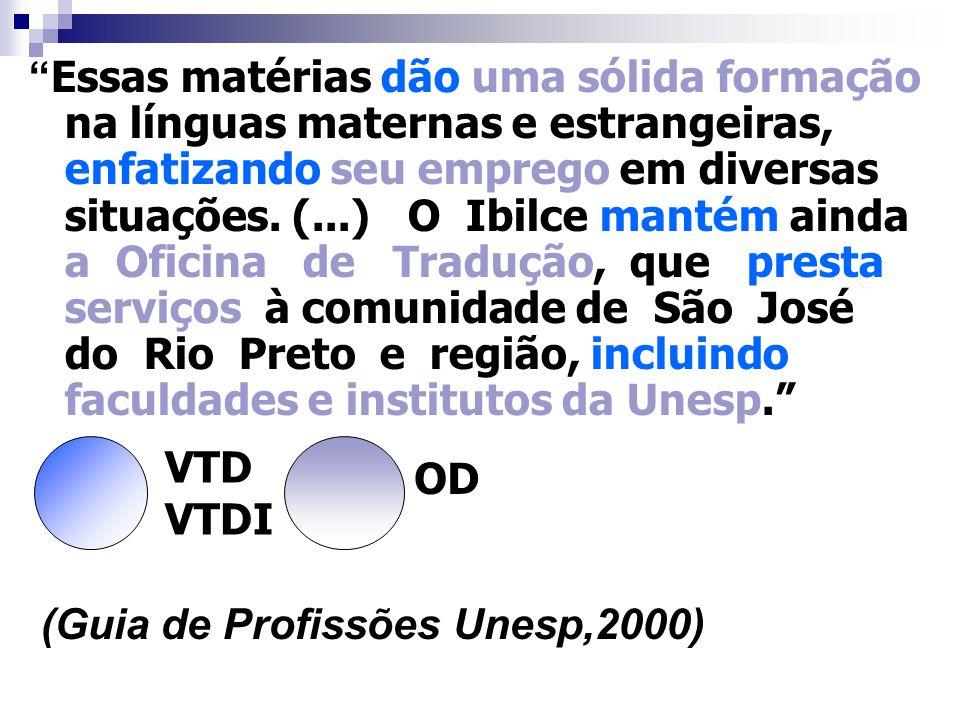 OBJETO DIRETO Termo que completa o sentido dos verbos transitivos diretos, aparecendo sem a preposição exigida pelo verbo e sendo o destinatário do pr