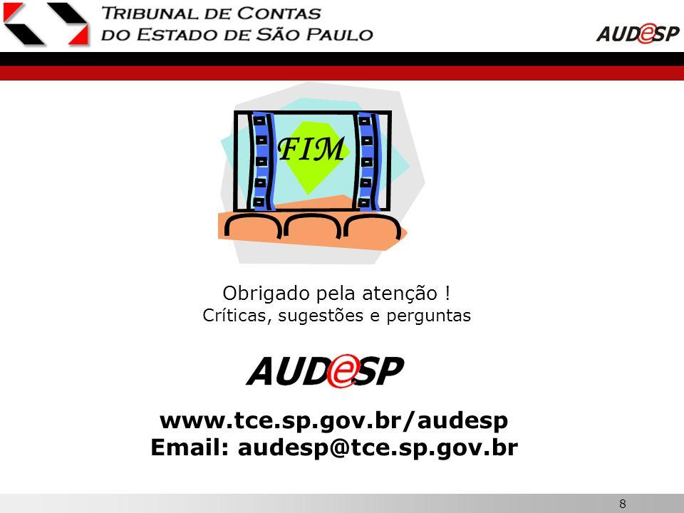 7 X ARQUIVOS DISPONIBILIZADOS SÍTIO DO TCESP: www.tce.sp.gov.br/audespwww.tce.sp.gov.br/audesp Estrutura de Códigos Contábeis e Alterações Tabelas de