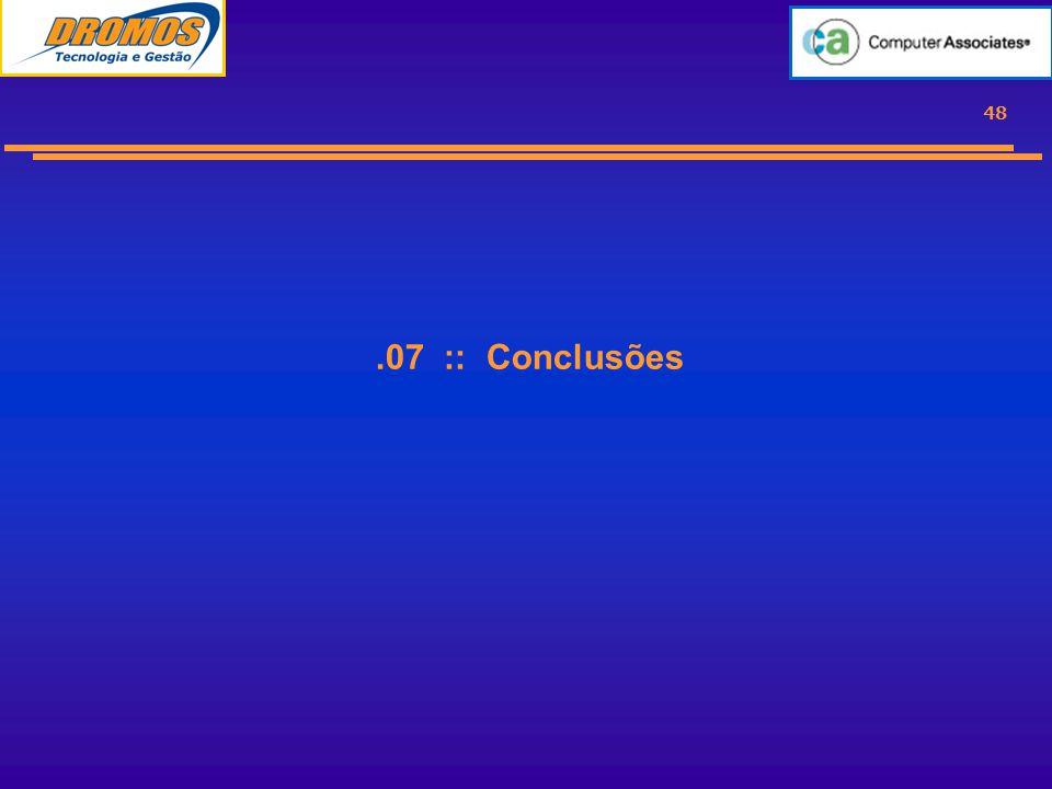 48.07 :: Conclusões