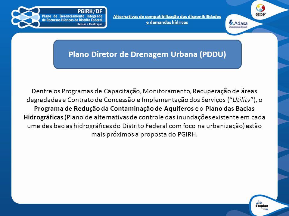 """Dentre os Programas de Capacitação, Monitoramento, Recuperação de áreas degradadas e Contrato de Concessão e Implementação dos Serviços (""""Utility""""), o"""
