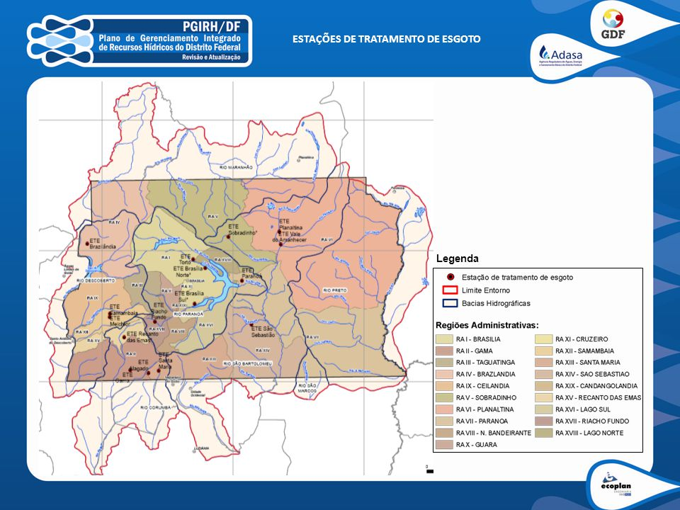 ESTIMATIVA CARGAS POLUIDORAS Contribuição Urbana - DBO