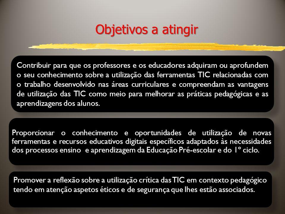 5 Conteúdos da Ação 1.As TIC e o currículo (5h) As TIC no currículo do 1º ciclo e nas orientações curriculares do pré-escolar.