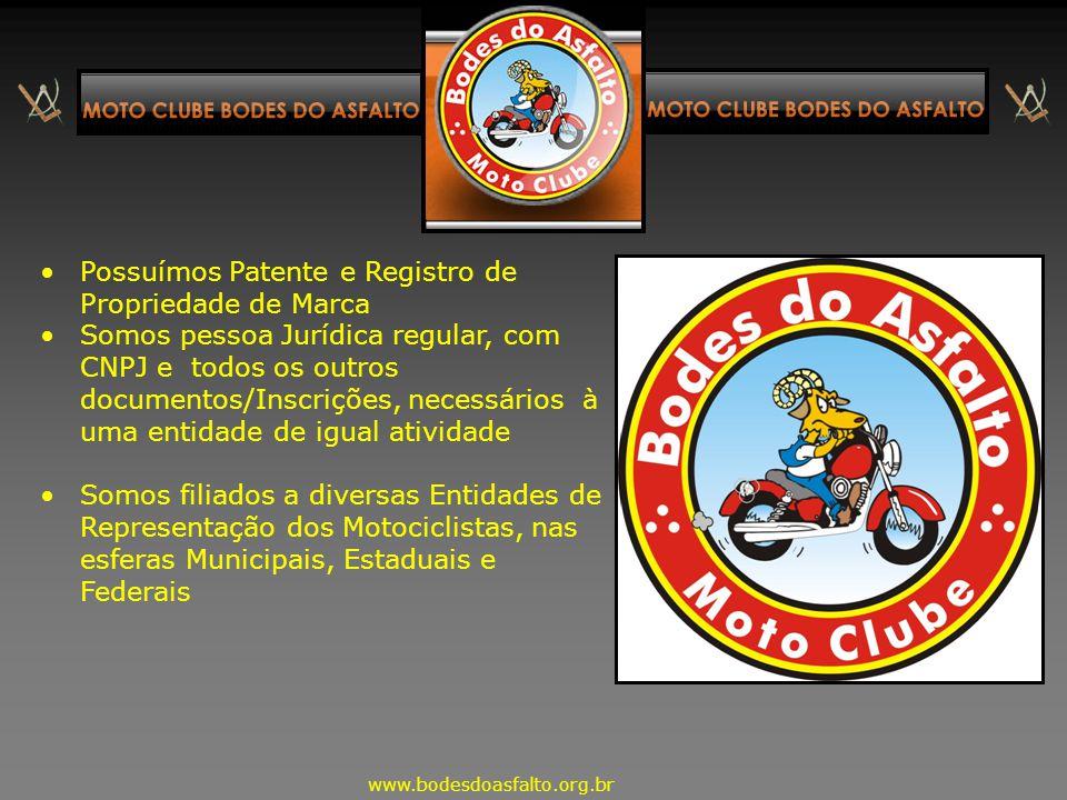 Dados 1.Maior Moto Clube do Brasil, conforme certificação da empresa Ranking Brasil, com 5.600 integrantes, em mais de 900 cidades ( nov. 2013 ). 2.Ma