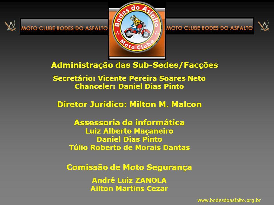 Diretoria Executiva: Presidente: Edson Fernando S. Sobrinho Vice-Presidente: Mauro Alves Ferreira Secretário: Luis Carlos Santana Adorno Tesoureiro: J