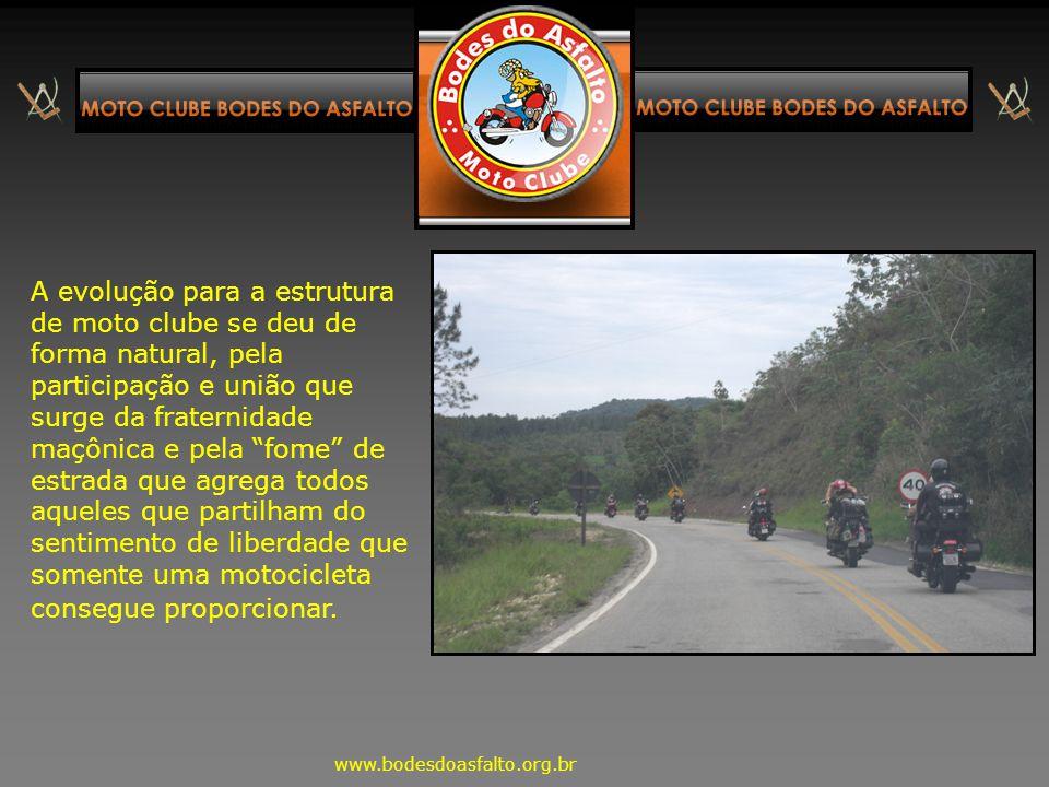 A idéia do moto clube surgiu de conversas entre Maçons integrantes da lista de discussão Atalaia, sendo inicialmente planejado para apoiar os Maçons M
