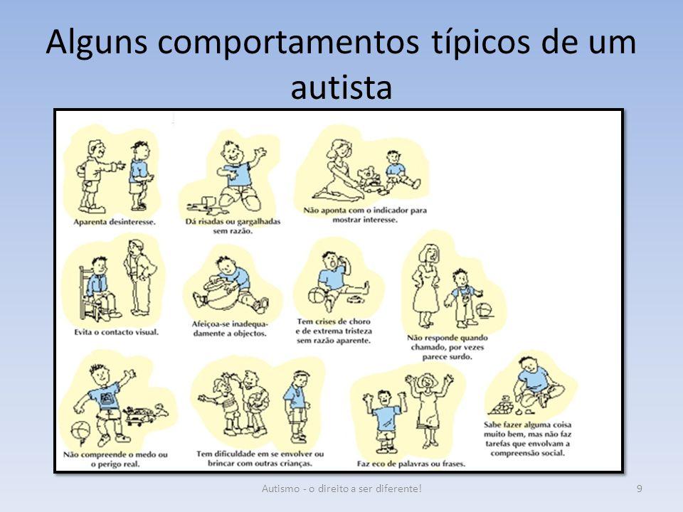 Alguns comportamentos típicos de um autista 9Autismo - o direito a ser diferente!