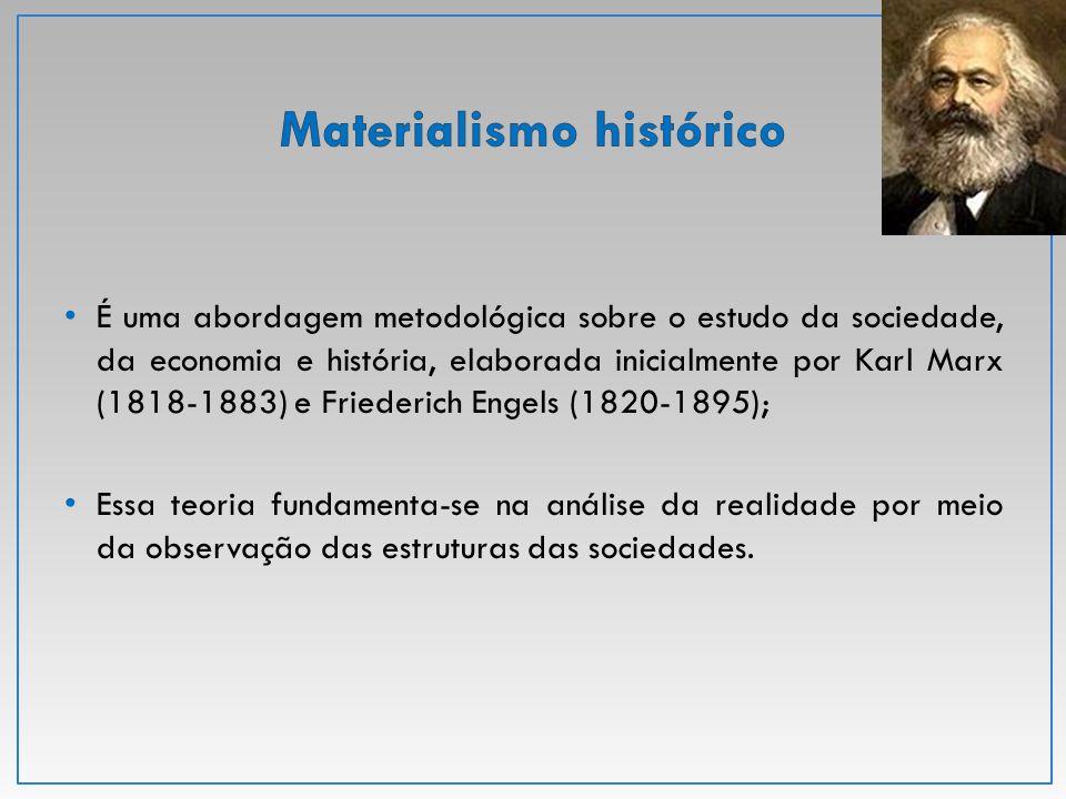 É uma abordagem metodológica sobre o estudo da sociedade, da economia e história, elaborada inicialmente por Karl Marx (1818-1883) e Friederich Engels