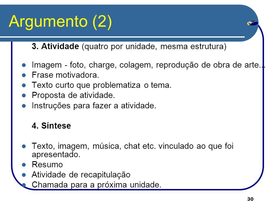 30 Argumento (2) 3.
