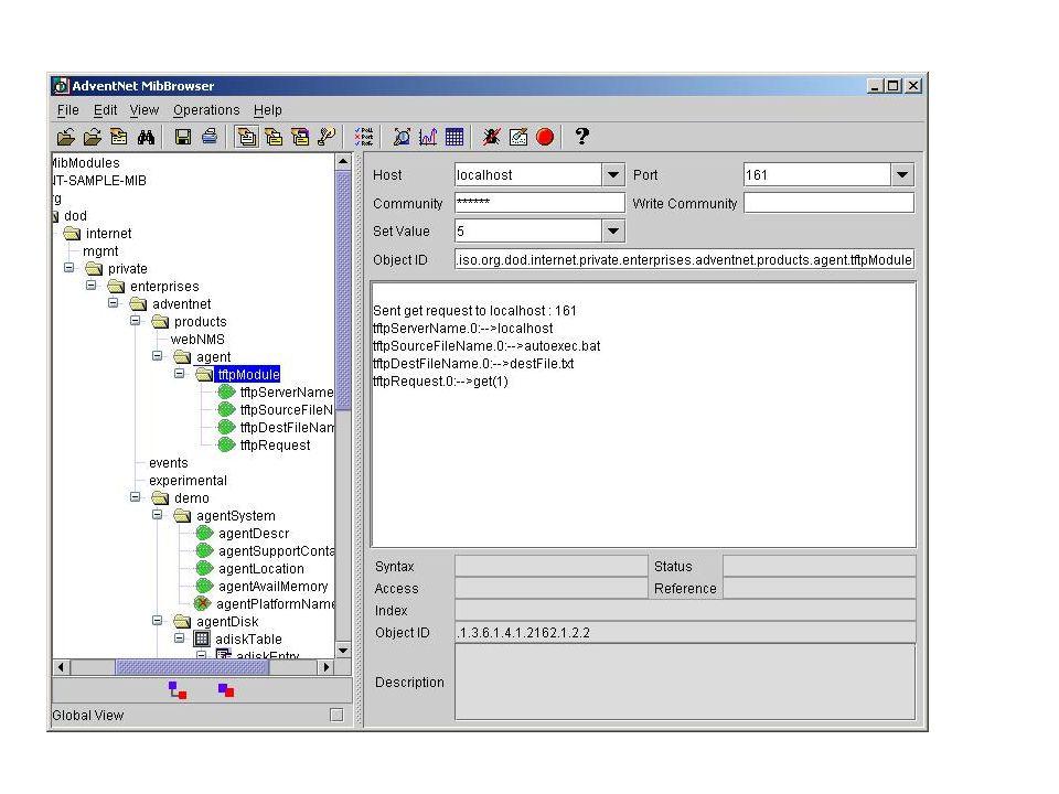 21 SNMP / Estrutura lógica da MIB
