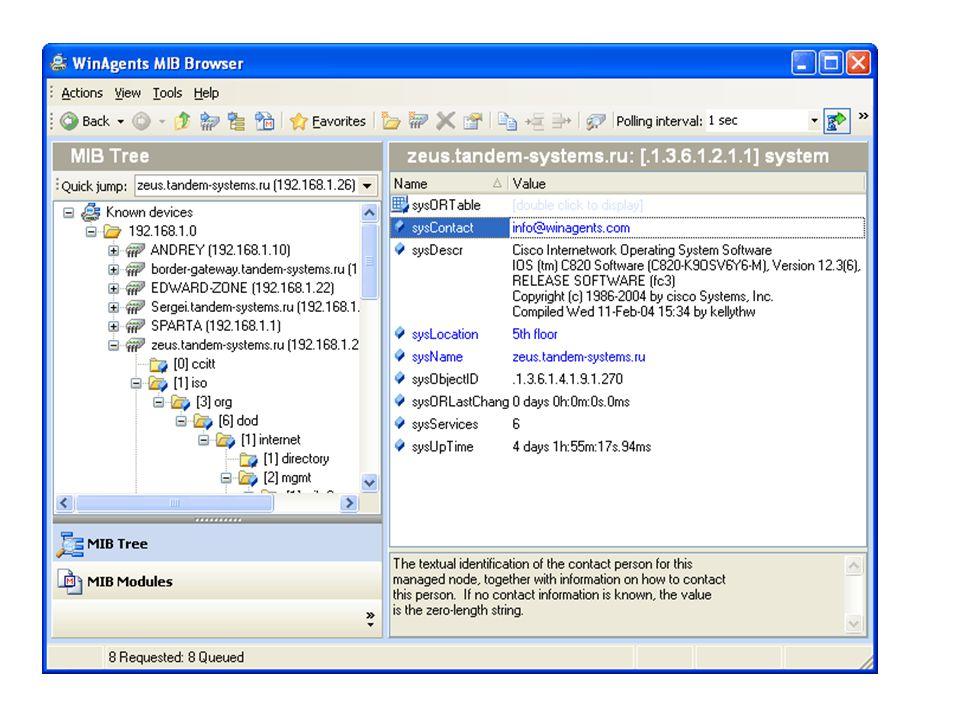 24 SNMP / Estrutura lógica da MIB