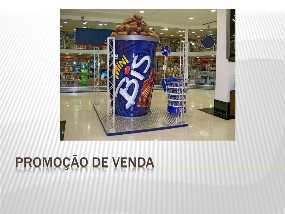  A promoção de vendas tem como função criar um incentivo temporário e uma razão adicional de compra para uma marca de produto.