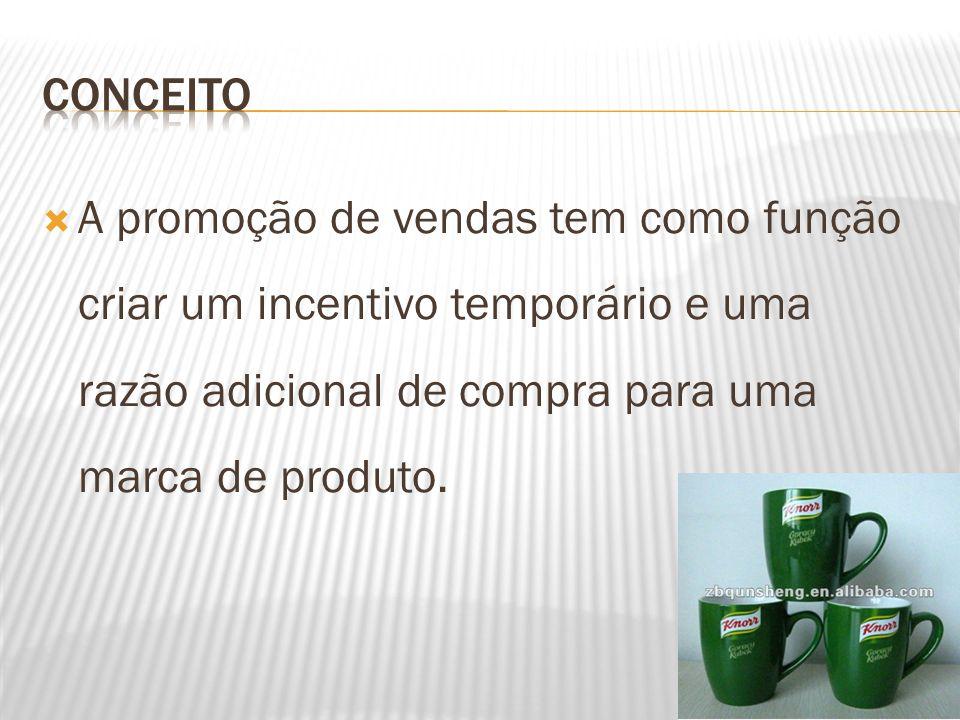  Planejamento da promoção de venda – Quando a promoção de vendas é planejada deve-se compilar as vendas médias de pelo menos seis meses anteriores ao início da promoção.