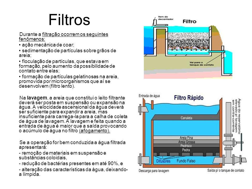 4.Cloração/ Desinfecção A cloração consiste na adição de cloro na água clarificada.