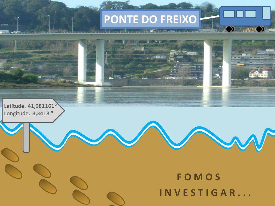 Resultados dos sedimentos recebidos do Rio Inha Inha 1 (27.10.2009) Latitude.
