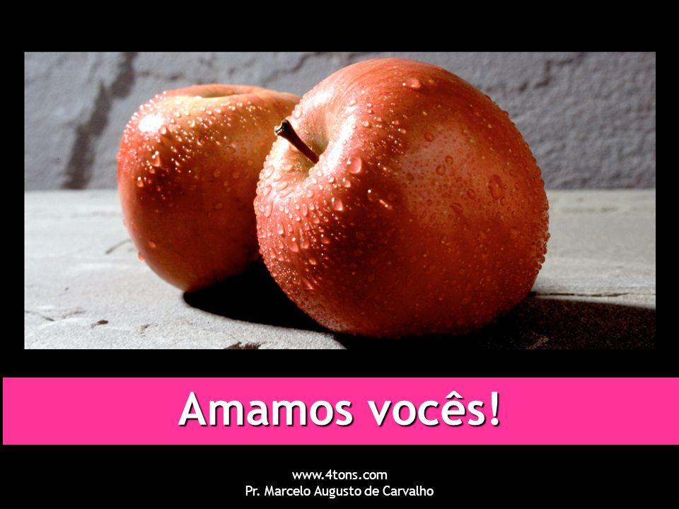 www.4tons.com Pr. Marcelo Augusto de Carvalho Amamos vocês!