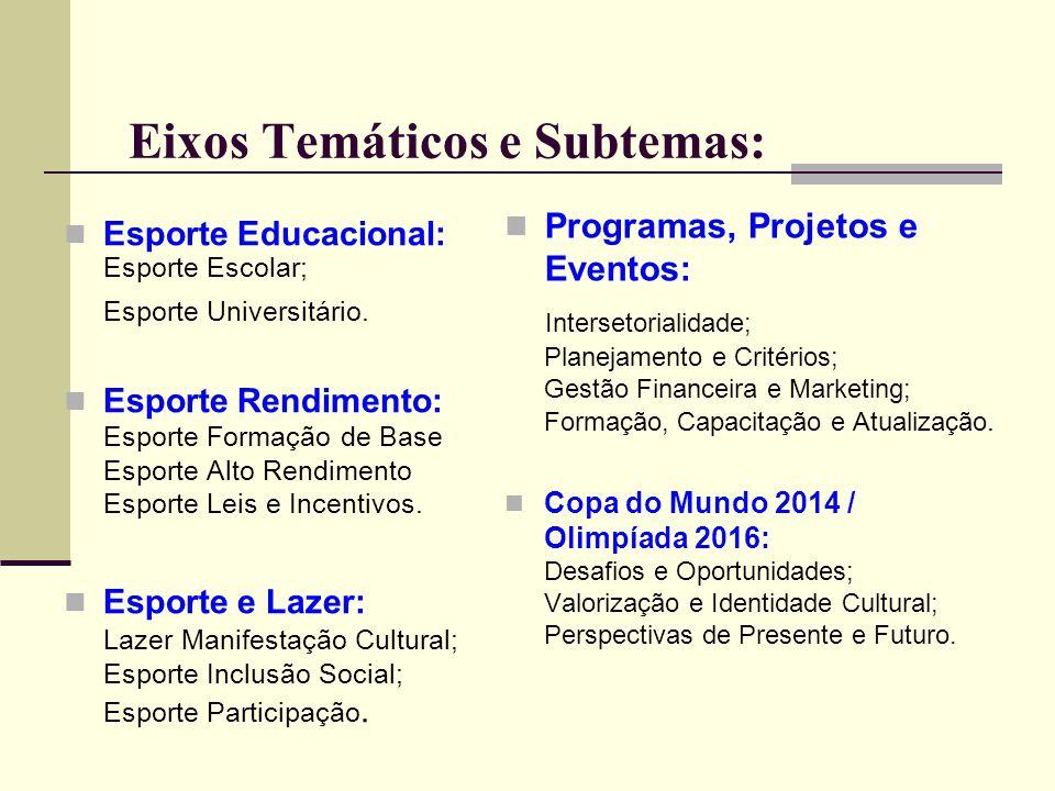 Etapas da Conferência Estadual Etapas Municipais: A cargo de cada município até realização da sua Conferência Regional.