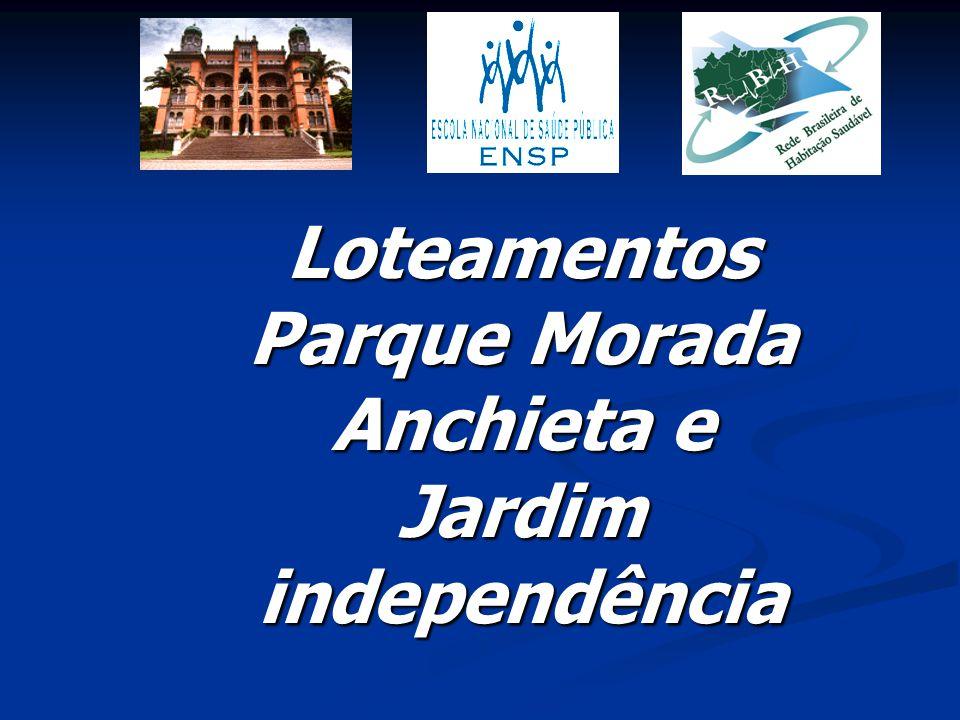 Loteamentos Parque Morada Anchieta e Jardim independência