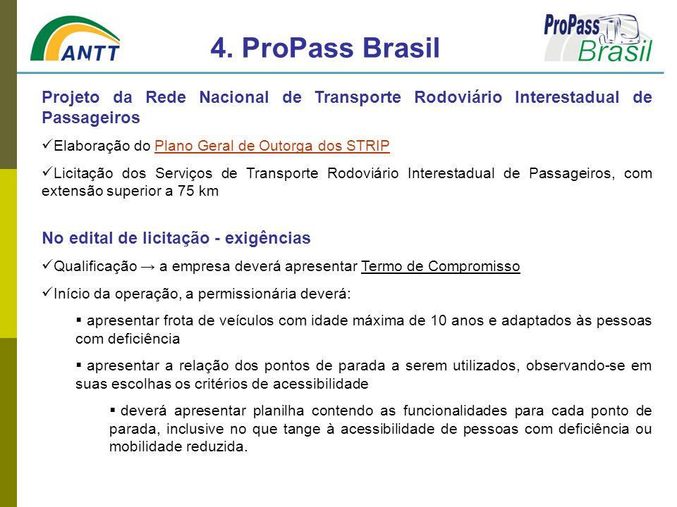 Projeto da Rede Nacional de Transporte Rodoviário Interestadual de Passageiros Elaboração do Plano Geral de Outorga dos STRIPPlano Geral de Outorga do