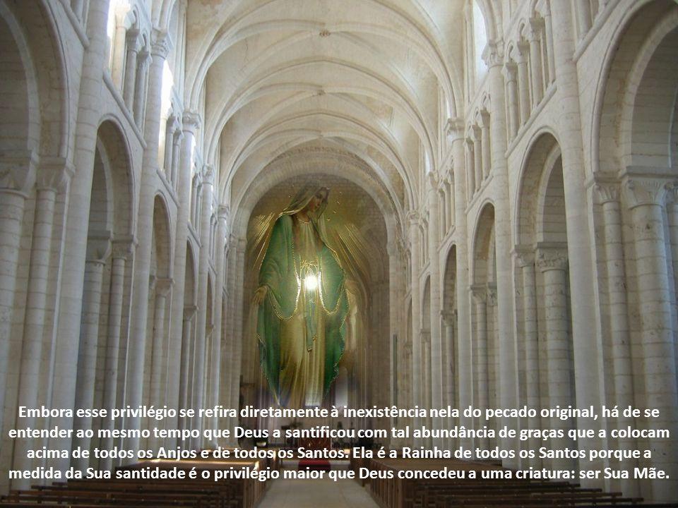 Ela é a Imaculada Conceição. Assim Pio IX define este dogma: