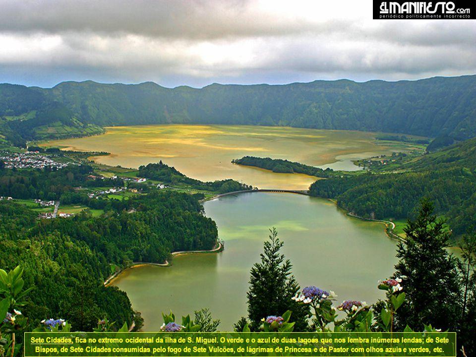 São Miguel é a maior ilha do arquipélago dos Açores. A ilha é composta por dois maciços vulcânicos separados por uma cordilheira central de baixa alti