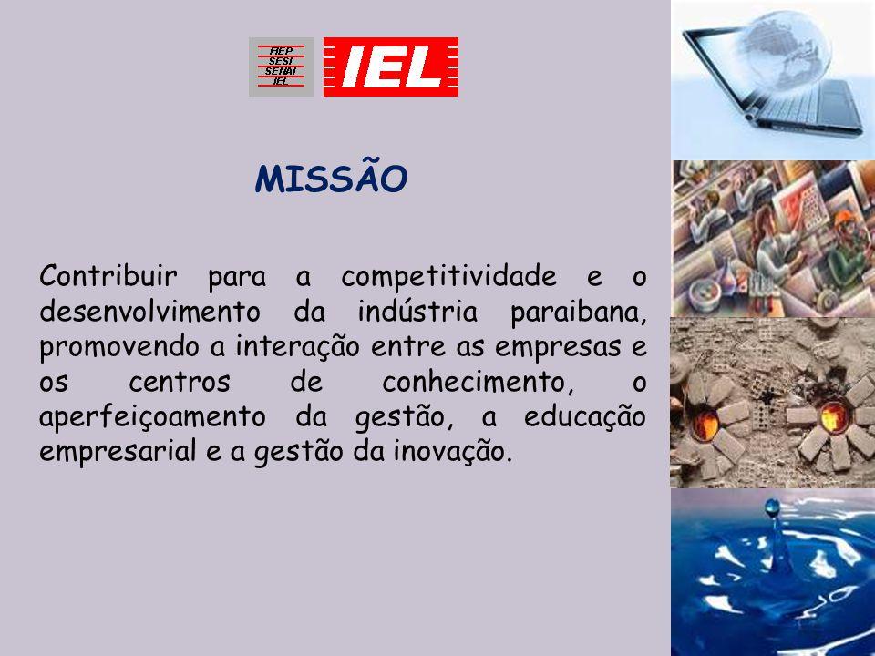 Contribuir para a competitividade e o desenvolvimento da indústria paraibana, promovendo a interação entre as empresas e os centros de conhecimento, o