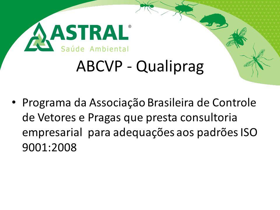 ABCVP - Qualiprag Programa da Associação Brasileira de Controle de Vetores e Pragas que presta consultoria empresarial para adequações aos padrões ISO