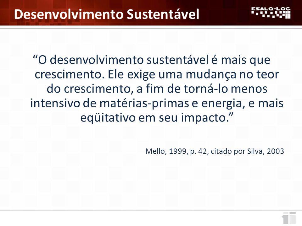 Baixa oferta de infraestrutura Rodoviário Ferroviário Fonte: CNT, 2011.