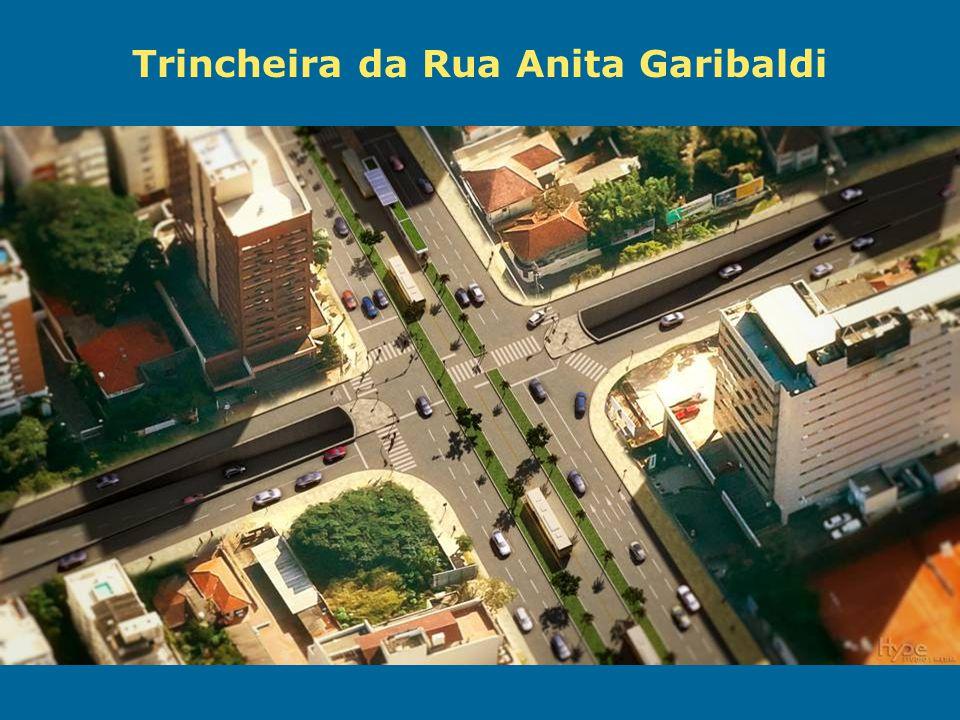Obras de Mobilidade Urbana e Transporte Público – Porto Alegre Copa 2014 Trincheira da Rua Anita Garibaldi