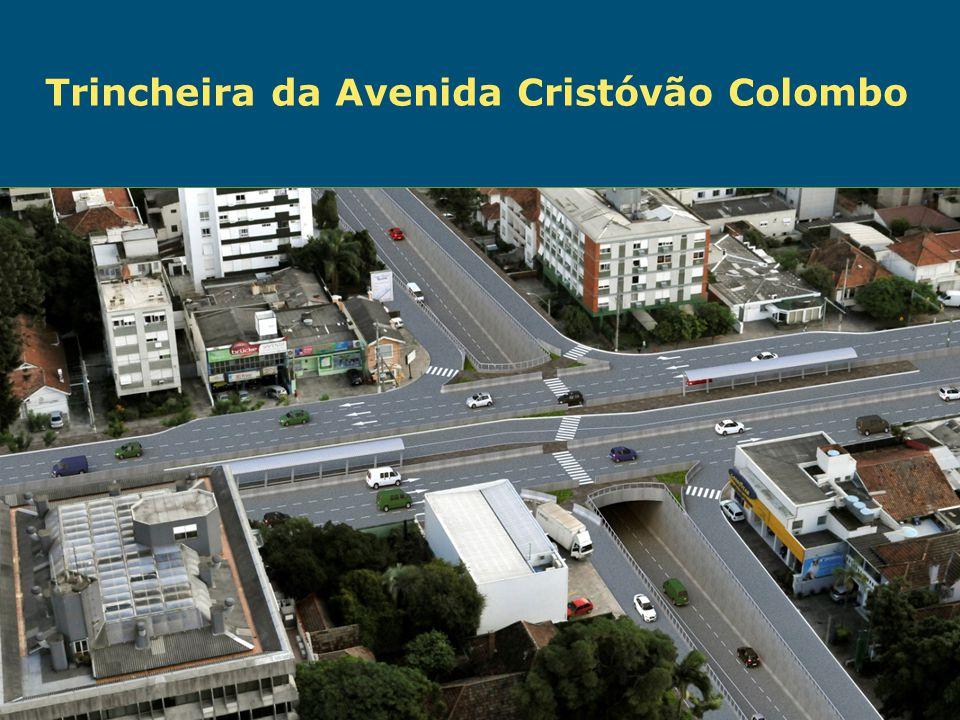 Obras de Mobilidade Urbana e Transporte Público – Porto Alegre Copa 2014 Trincheira da Avenida Cristóvão Colombo