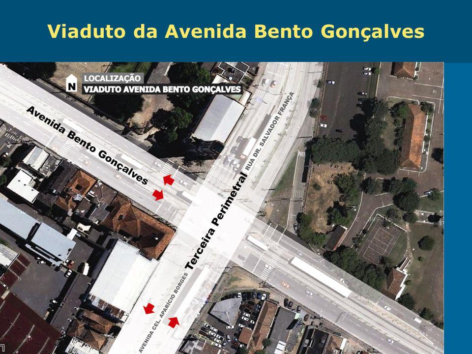 Obras de Mobilidade Urbana e Transporte Público – Porto Alegre Copa 2014 Viaduto da Avenida Bento Gonçalves