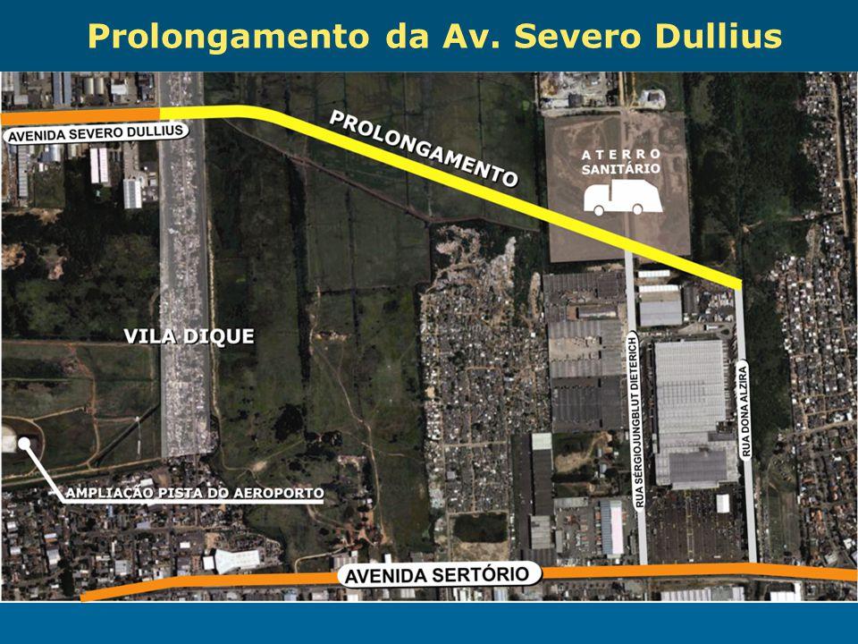 Obras de Mobilidade Urbana e Transporte Público – Porto Alegre Copa 2014 Prolongamento da Av. Severo Dullius