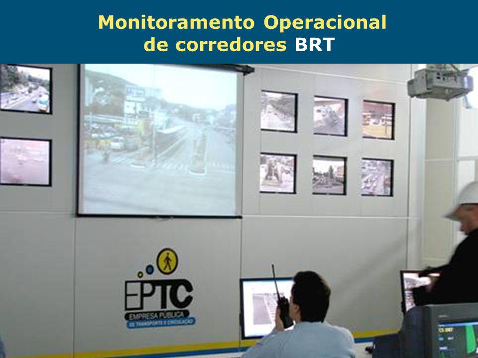 Obras de Mobilidade Urbana e Transporte Público – Porto Alegre Copa 2014 Monitoramento Operacional de corredores BRT