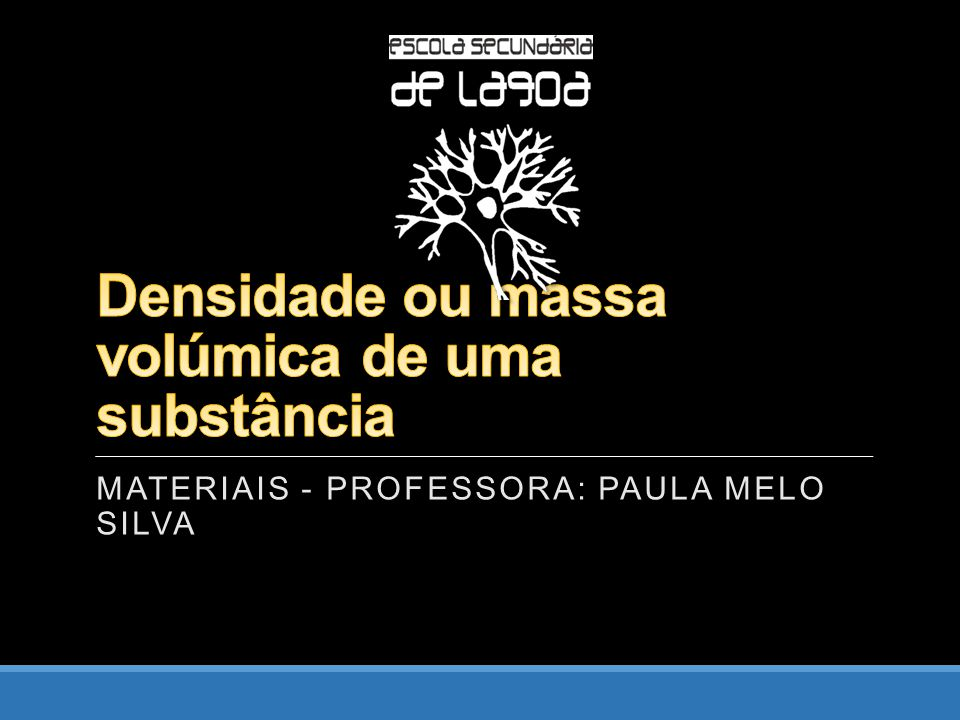 MATERIAIS - PROFESSORA: PAULA MELO SILVA