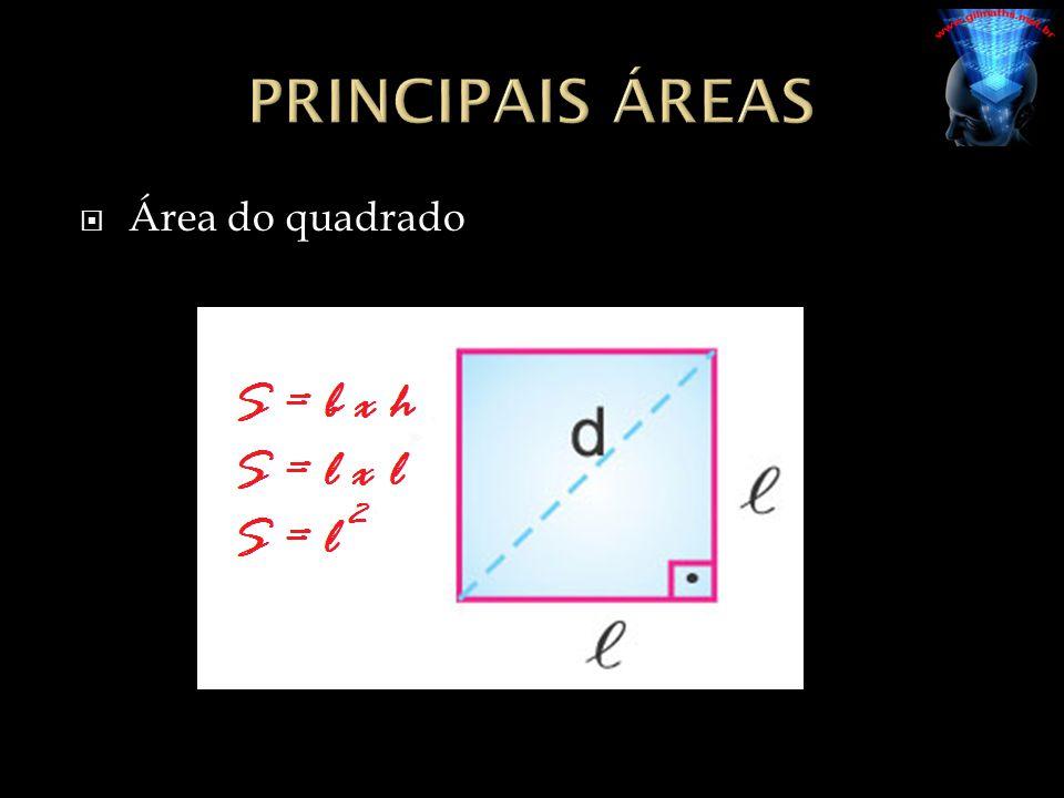  Área do quadrado