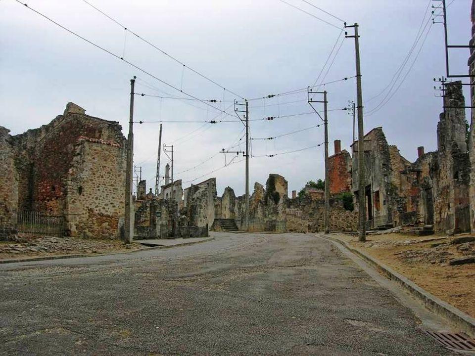 Após a guerra, o general de Gaulle decidiu que o vilarejo não seria reconstruído, mas tornaria-se um memorial – da França sob a ocupação. A reconstruç