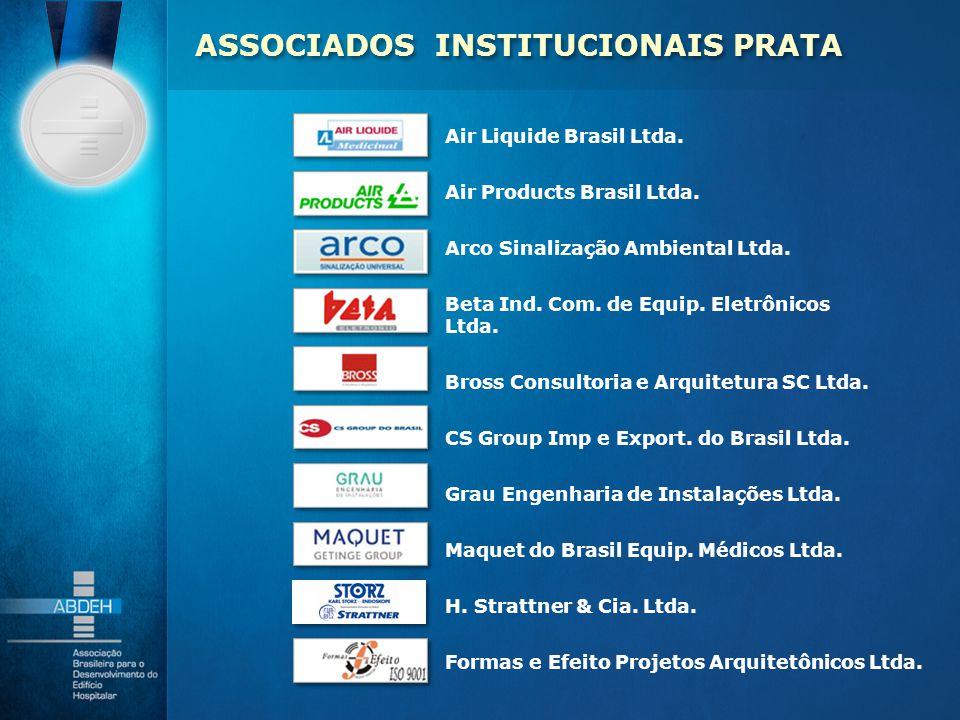 Air Liquide Brasil Ltda. Air Products Brasil Ltda. Arco Sinalização Ambiental Ltda. Beta Ind. Com. de Equip. Eletrônicos Ltda. Bross Consultoria e Arq