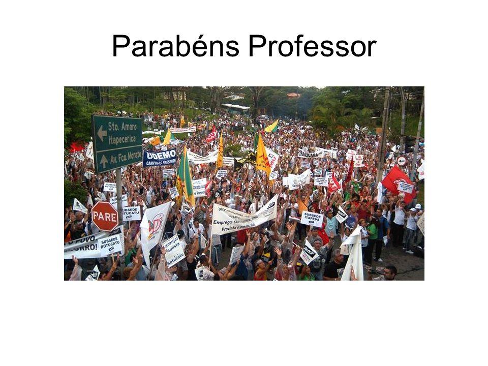 Parabéns Professor