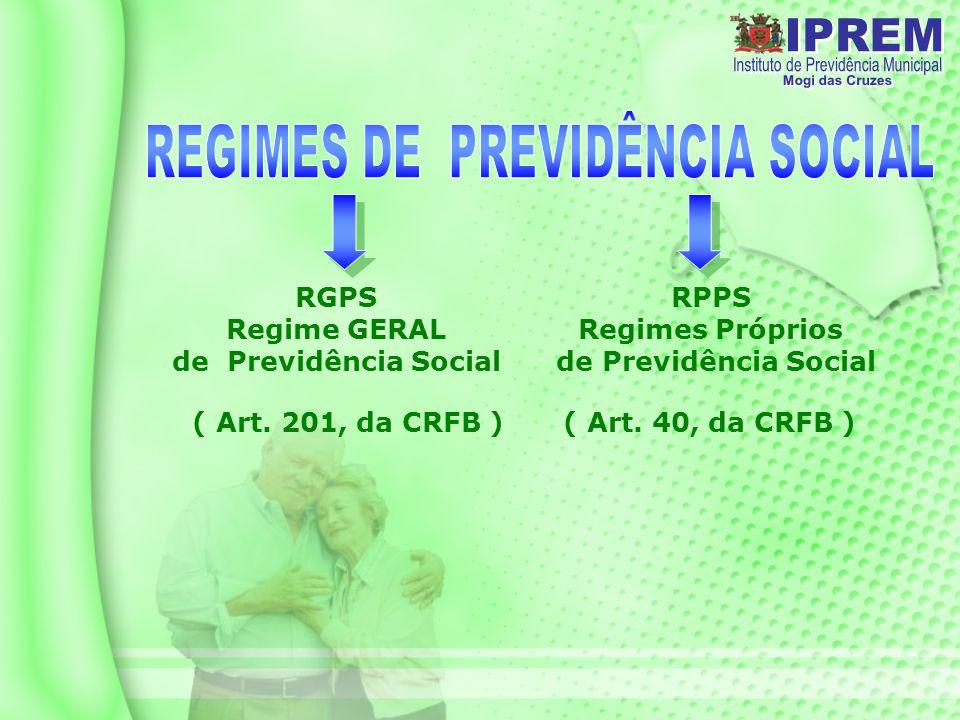 RGPS Regime GERAL de Previdência Social ( Art.