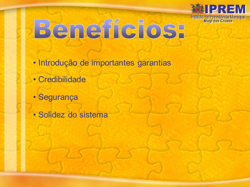 Da Criação: o IPREM foi criado em 05 de julho de 2005, com a publicação da Lei Complementar n.º 35/2005.