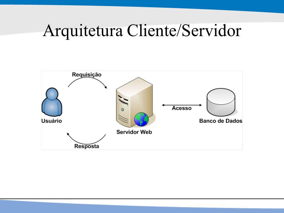 5 Arquitetura Cliente/Servidor