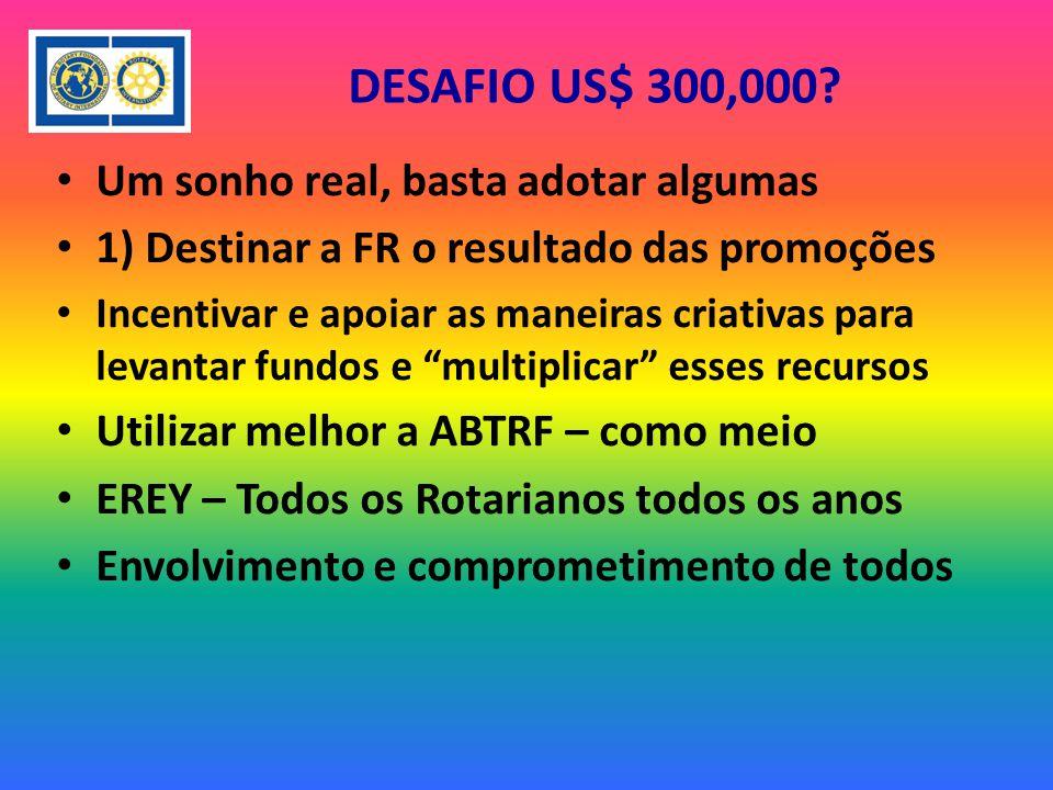 DESAFIO US$ 300,000.