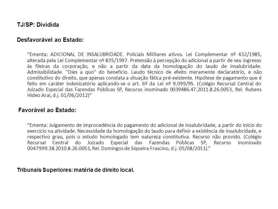 2.2.ADICIONAL DE LOCAL DE EXERCÍCIO 2.2.1.