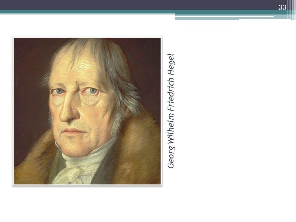 Georg Wilhelm Friedrich Hegel 33