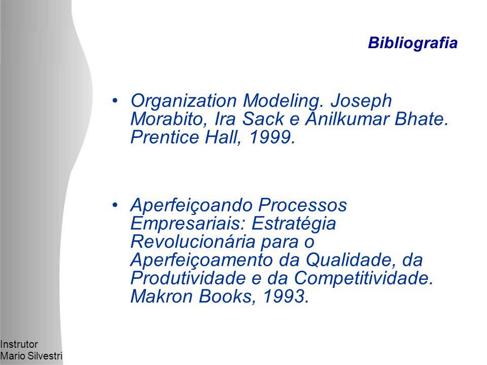 Instrutor Mario Silvestri Organization Modeling.Joseph Morabito, Ira Sack e Anilkumar Bhate.