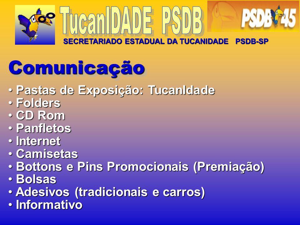FESTA JUNINA ENCONTRO PARA FORMAÇÃO DA TUCANIDADE EM JUNDIAÍ TUCANIDADE 2006 / 2007 ENCONTRO PARA FORMAÇÃO DA TUCANIDADE PRAIA GRANDE ENCONTRO PARA FORMAÇÃO DA TUCANIDADE GUARUJÁ 1ª REUNIÃO DA TUCANIDADE PARA ORGANIZAÇÃO DA CAMPANHA SERRA / GERALDO ALCKIMIN ENCONTRO DA 3ª IDADE ENCONTRO PARA FORMAÇÃO DE NÚCLEO EM PIRACICABA