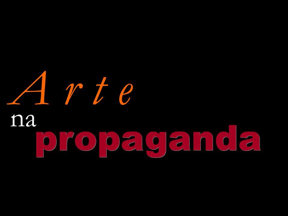 A r t e propaganda na